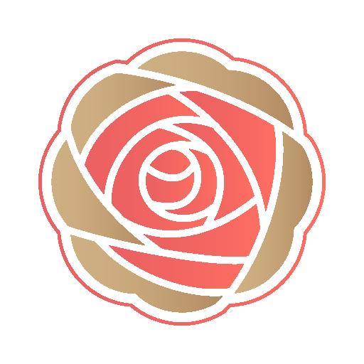 Rose Icon Valentine Iconset Designbolts