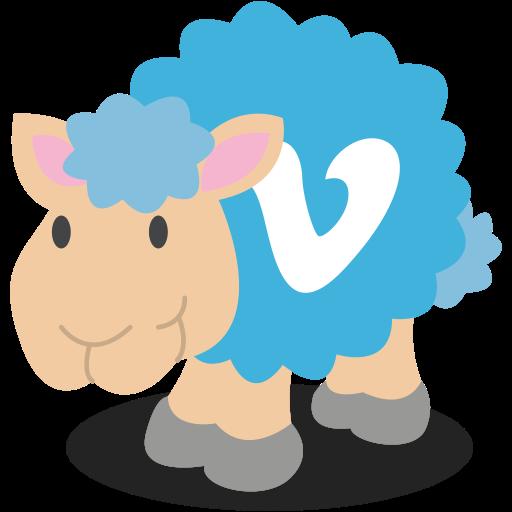 Social Media Sheep Icon