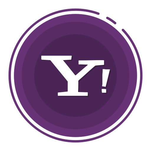 Yahoo, Social Media Icons Icon