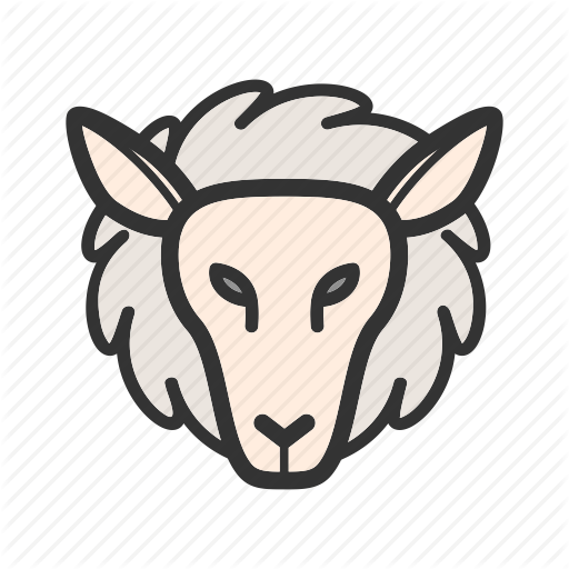 Face, Farm, Lamb, Lambs, Livestock, Sheep, White Icon