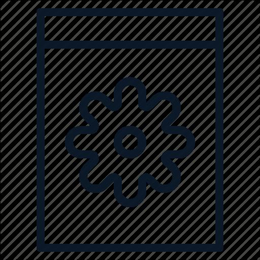 , Gear, Setting, System Icon