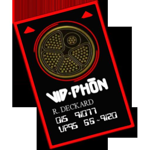 Vid Phon Card Icon Blade Runner Iconset Corwins