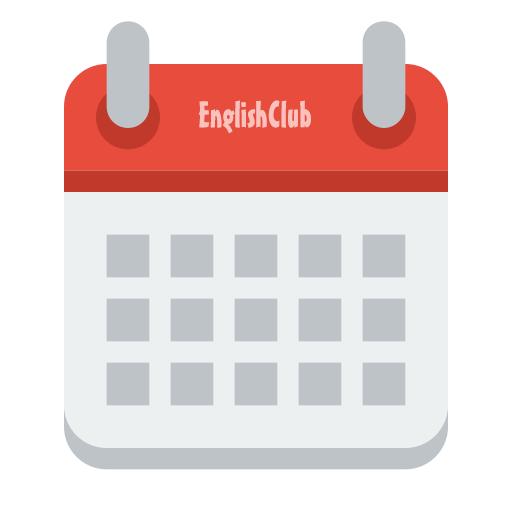 Englishclub Esl Lesson Plan Calendar Plan Your Lessons Around