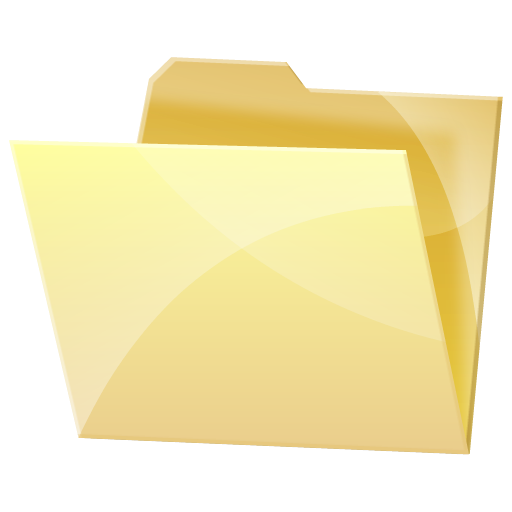 Empty, Folder, Dock, Blank Icon