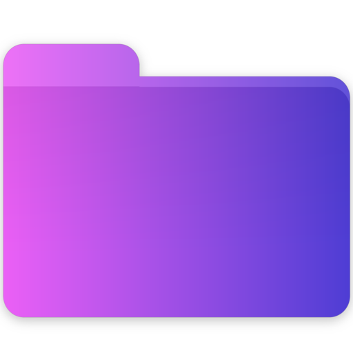 Code, Folder, Blank Icon Free Of Gradient Folders