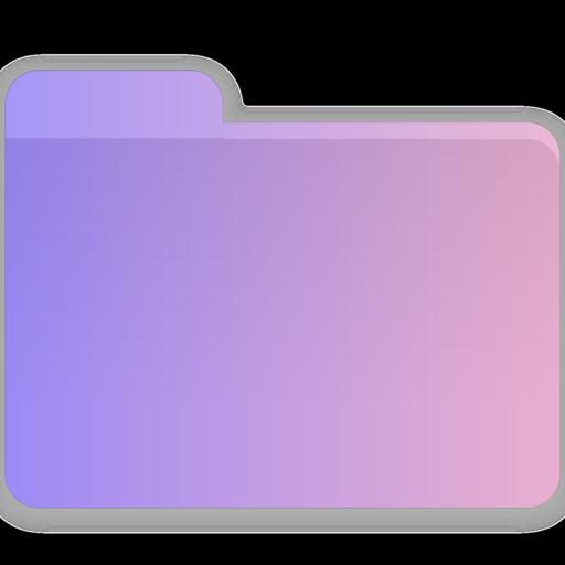 Heart, Folder, Blank Icon Free Of Gradient Folders