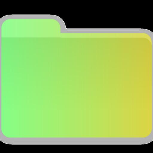 Bin, Folder, Blank Icon Free Of Gradient Folders