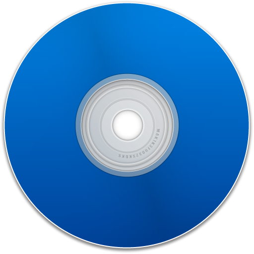 Free Blank Blue Cd Dvd Disc Empty Disk Save Icon Graphics Tag