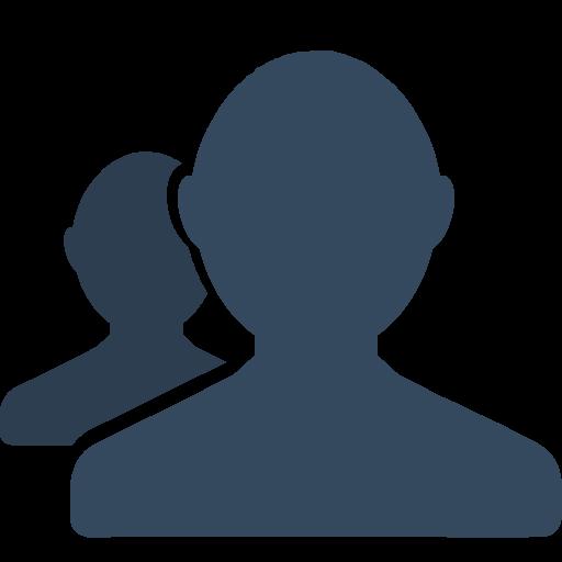 Profile Group Icon Small Flat Iconset Paomedia
