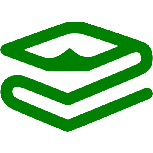 Green Foil Space Blanket Icon