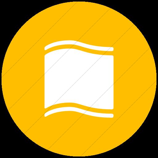 Flat Circle White On Yellow Ocha Humanitarians Food Nfi