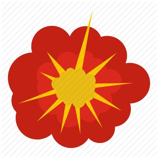 Blast, Bomb, Boom, Burst, Cloudy Explosion, Effect, Explode Icon