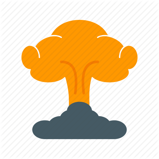 Blast, Bomb, Damage, Disaster, Explosion, Fire, Smoke Icon