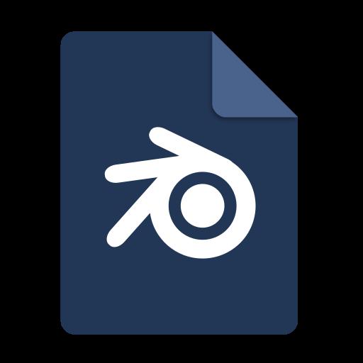 Application, Blender Icon Free Of Super Flat Remix Mimetypes