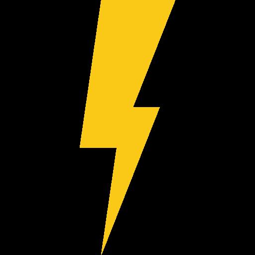 Blitz Symbol Kostenlos Von Universal Icons