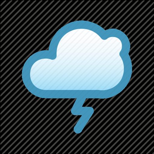 Blitzcon, Climate, Heavy Rain, Line, Mix, Storm, Thunder, Weather Icon