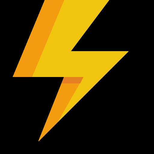 Blitz Symbol Kostenlos Von Small Flat Icons