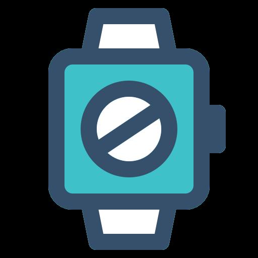 Smart, Watch, Banned, Block Icon Free Of Smart Watch