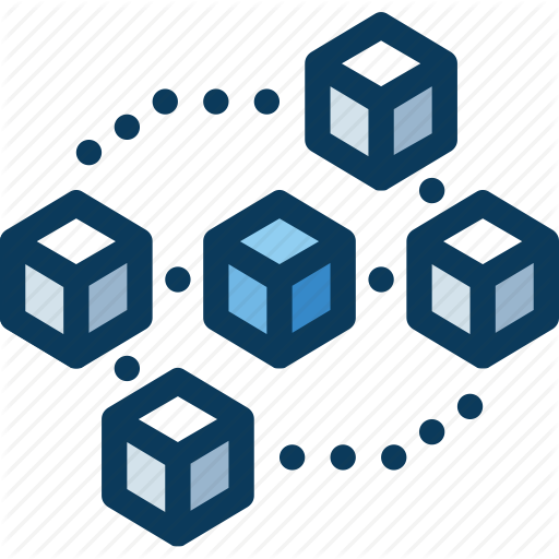 Blockchain, Cryptocurrency, Currency, Digital, Transaction Icon