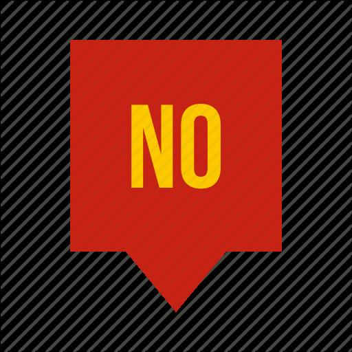 Blocking, Bubble, Mark, No, Shape, Speech, Wrong Icon