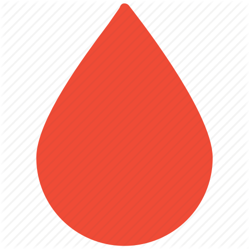Blood, Blood Drop, Rain Drop, Water Drop Icon