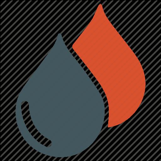 Blood, Drop, Type Icon