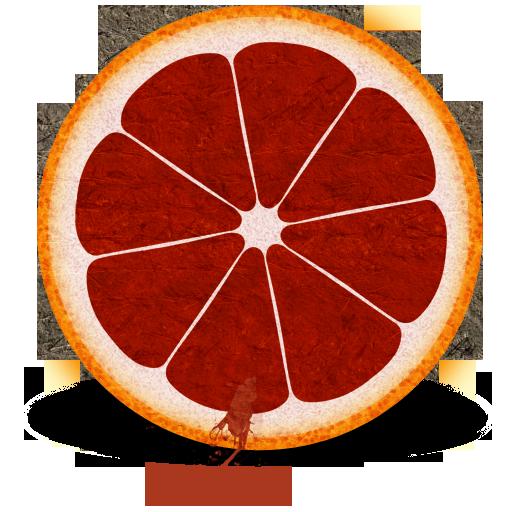 Blood, Orange Icon