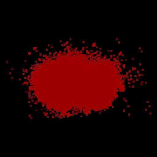 Blood Splash Flat Icon