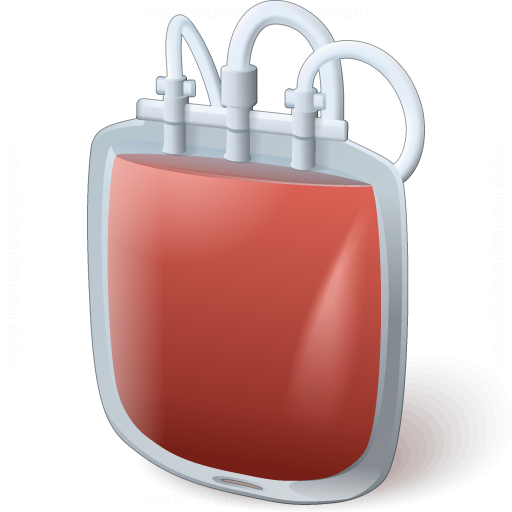 Iconexperience V Collection Blood Bag Icon
