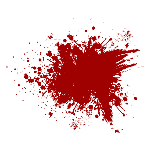 Blood Splatter Flat