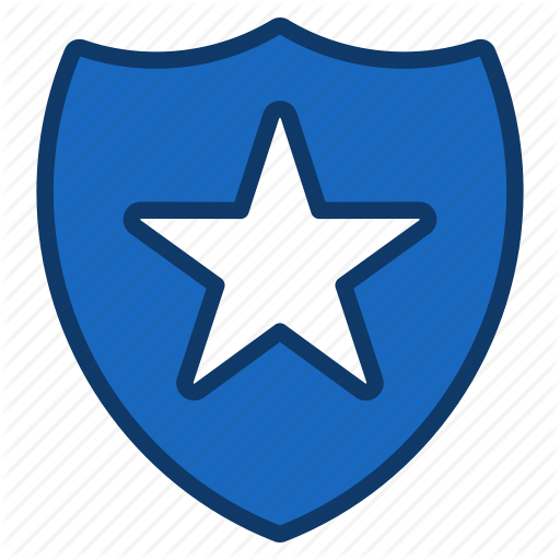 Protect, Protection, Safety, Secure, Security, Shield, Star Icon