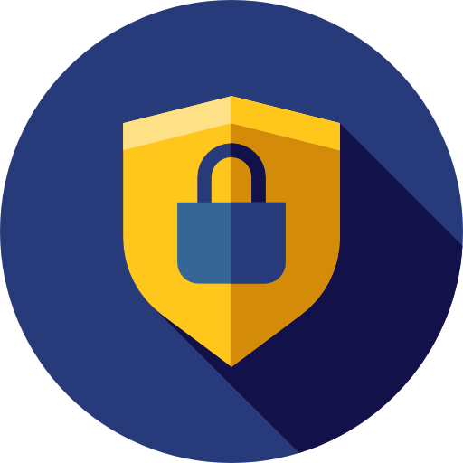 Secure, Security, Antivirus, Shield, Defense Icon
