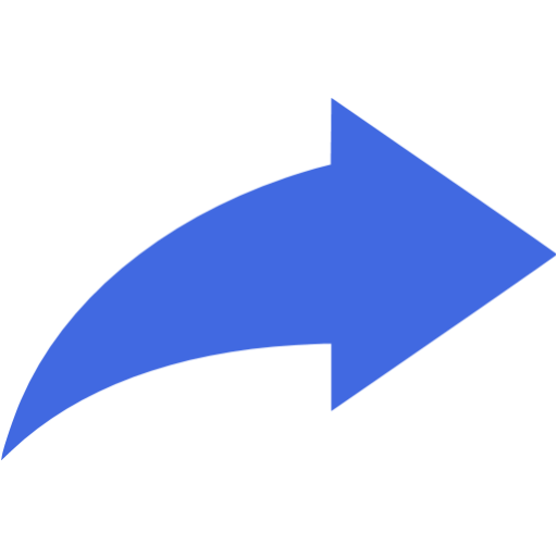 Blue Arrow Icon Png Flat Images