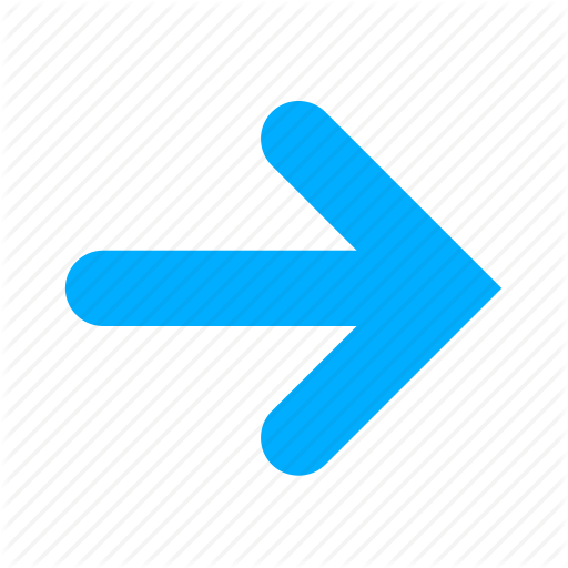 Arrow, Arrows, Blue, Direction, Next, Right Icon