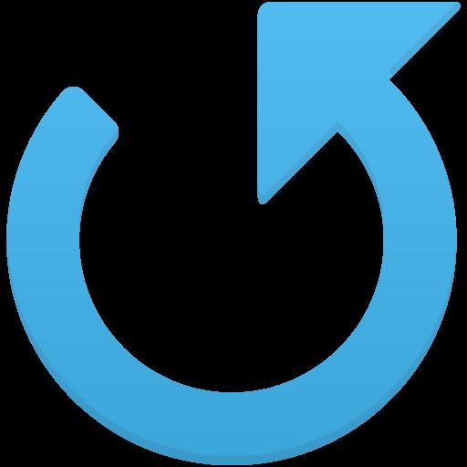Counterclockwise Arrow Icon Flatastic Iconset Custom Icon Design