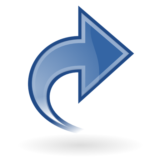 Right, Blue, Arrow, Next, Ok, Yes, Forward, Correct Icon