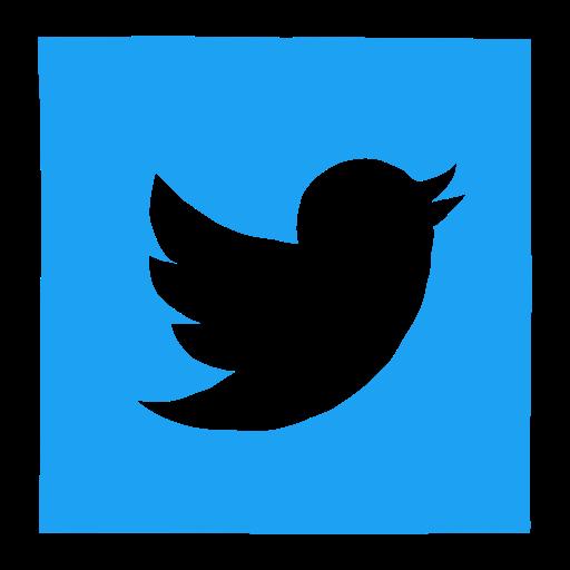 Twitter Bird, Retweet, Follow, Square, Twitter Symbol, Blue Bird