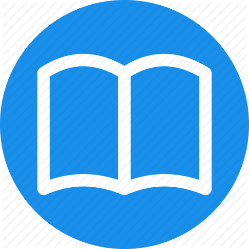 Blue, Book, Bookmark, Circle, Education, Favorite, Learn Icon