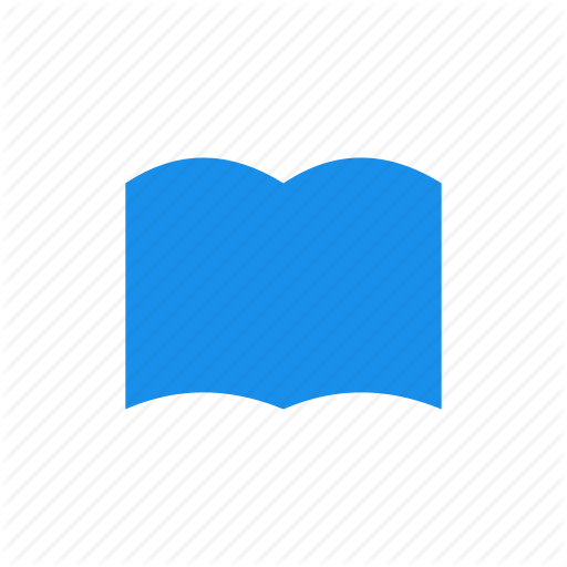 Blue, Book, Bookmark, Learn, Library, Read Icon