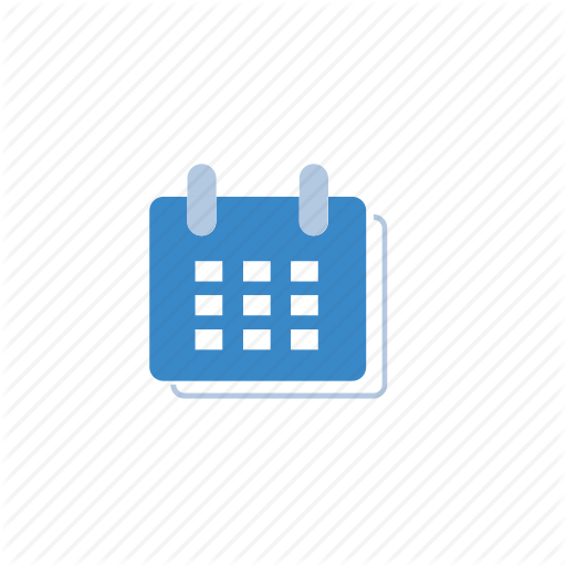 Blue, Calendar, Date, Marketing Icon