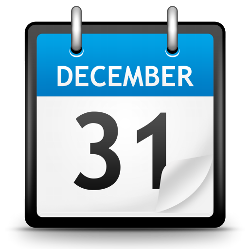 Calendar Icon New Year Iconset