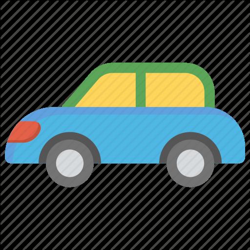Blue Car, Kids Car, Kids Toy, Remote Car, Toy Car Icon