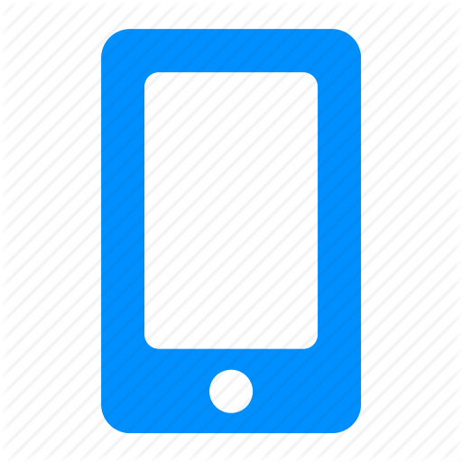 Blue, Device, Ios, Iphone, Mobile, Phone Icon