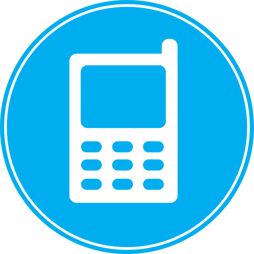 Phones, Connection, Mobile, Phone, Cell, Call, Telephone Icon