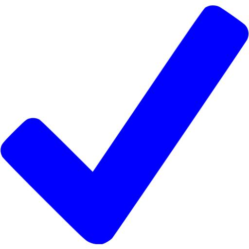 Blue Checkmark Icon