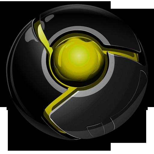 Google Chrome Black Logo Png Images