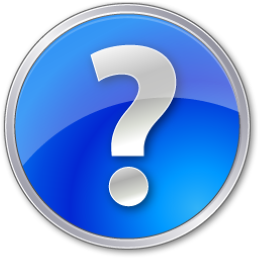 Help, Blue, Circle Icon