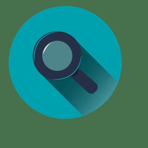 Search Blue Circle Icon