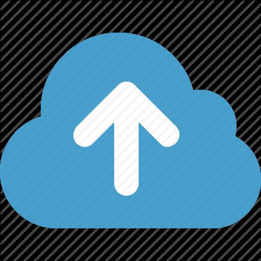 Cloud, Cloud Data, Online Storage, Upload, Upload To Cloud Icon