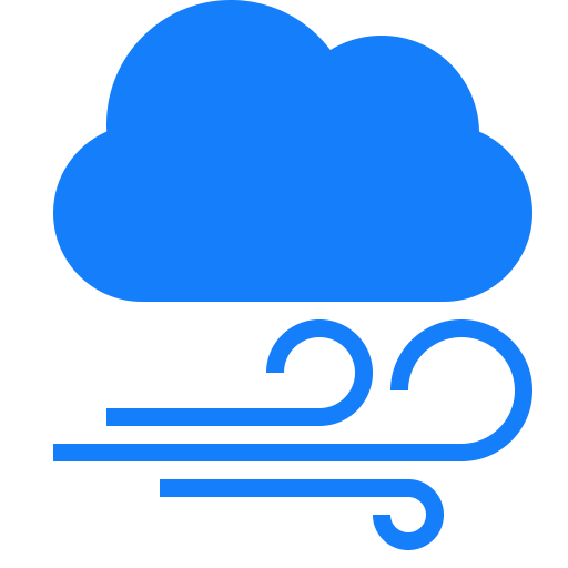 Mixed Cloud Icon